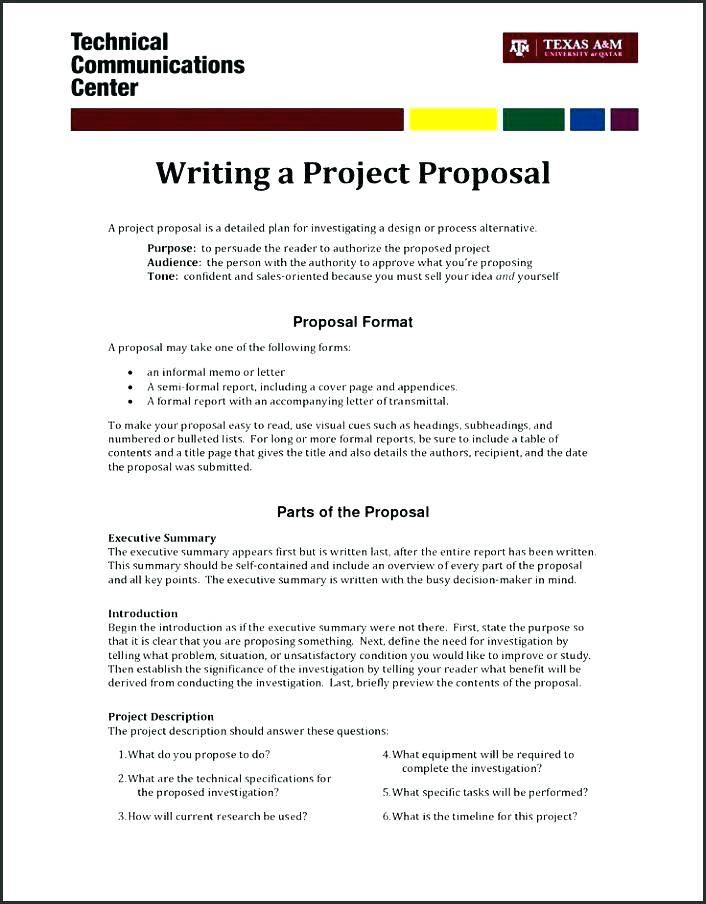 Simple Sales Proposal Example