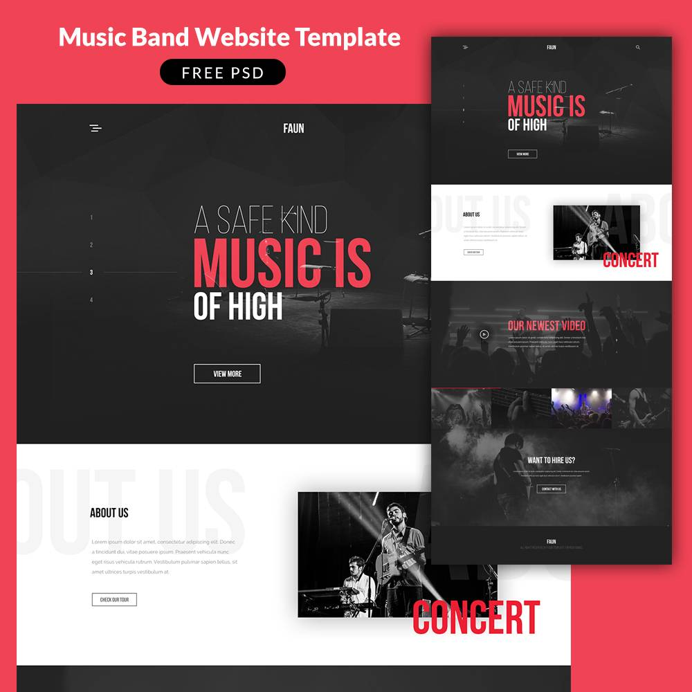 Singer Responsive Website Templates Free Download