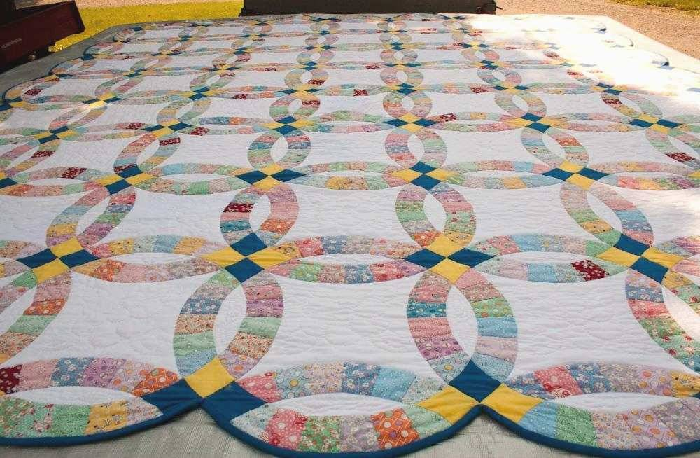 Single Wedding Ring Quilt Pattern