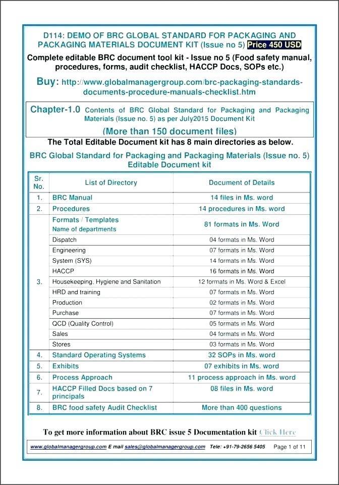 Site Safety Audit Checklist Template