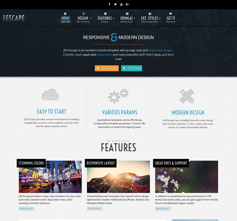 Siteground Joomla Responsive Templates
