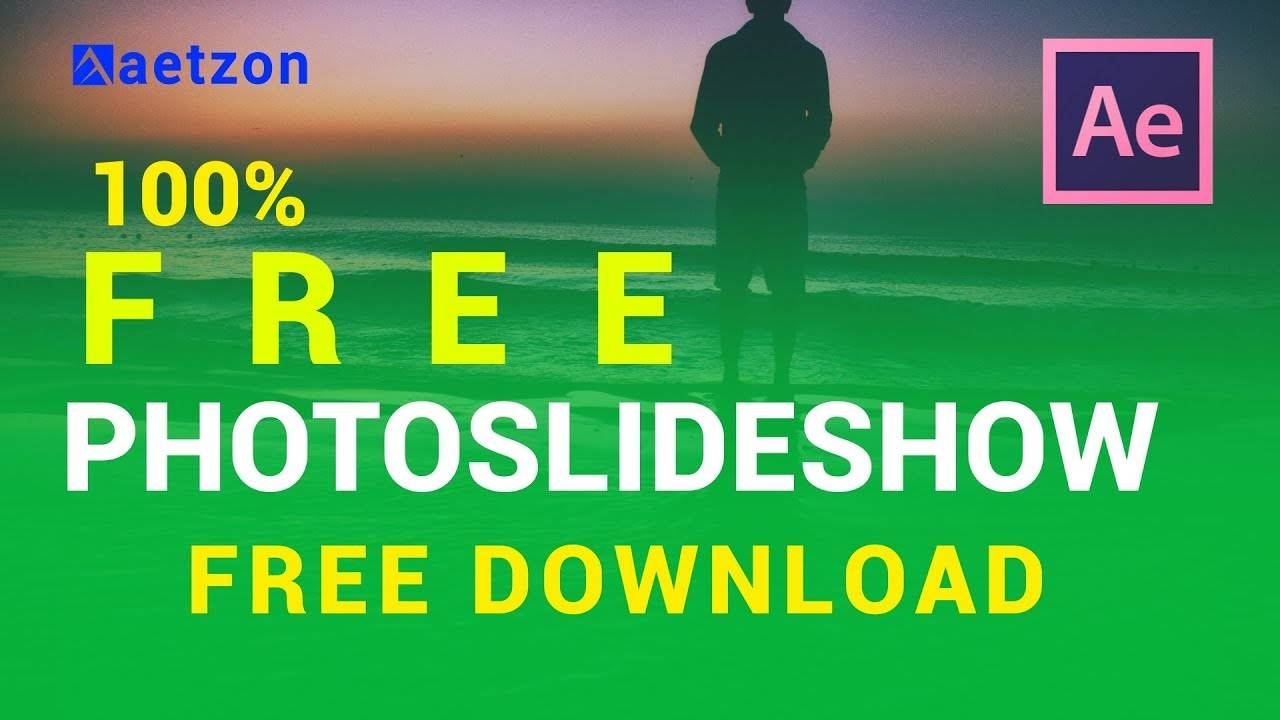 Slideshow After Effects Project File Free Download