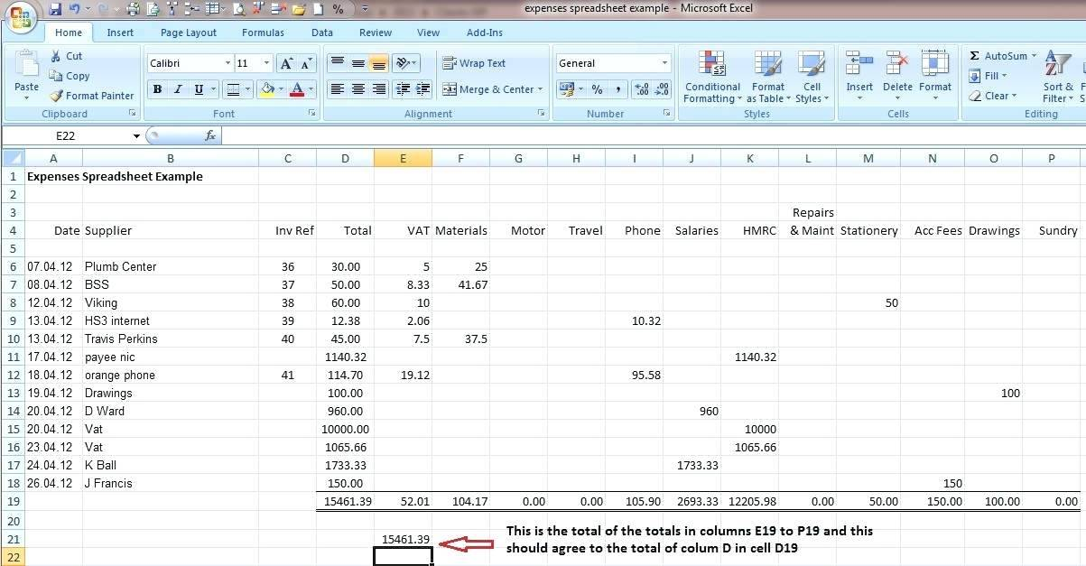 Small Business Accounting Template Xls