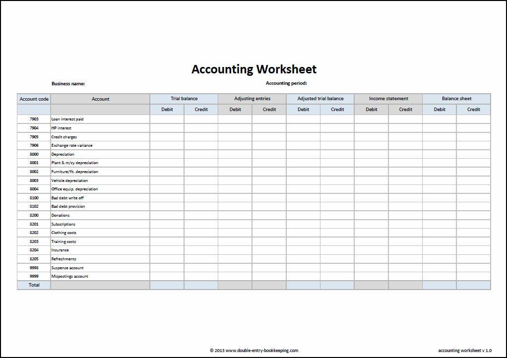 Small Business Bookkeeping Templates Canada