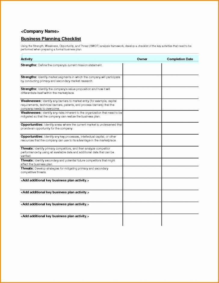 Small Business Contingency Plan Example