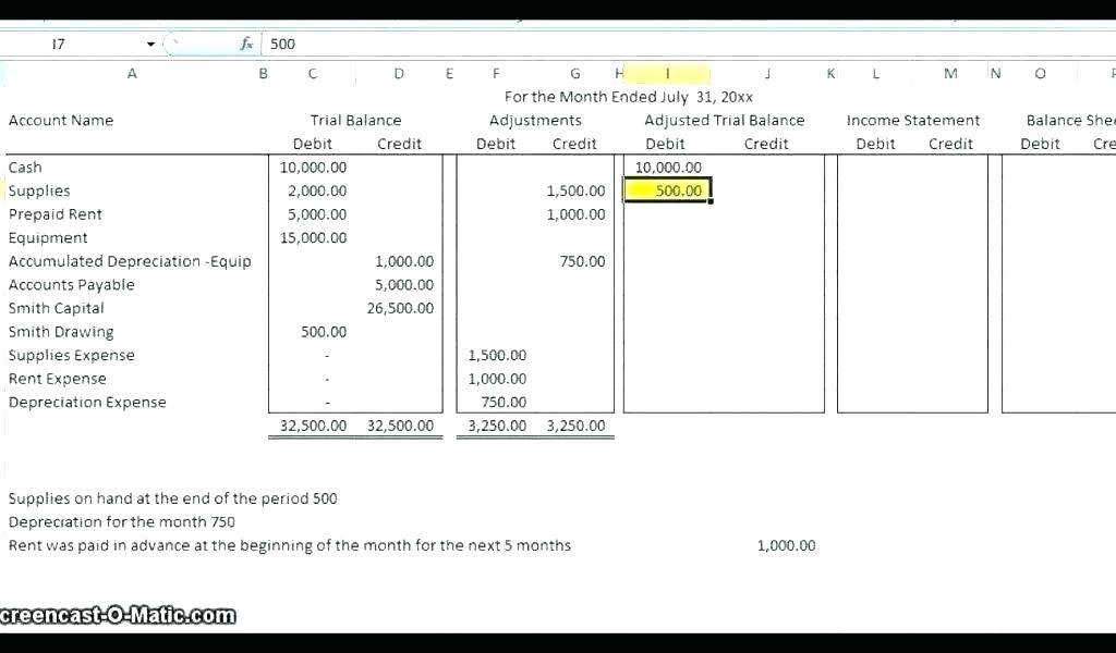 Small Business Daily Bookkeeping Template