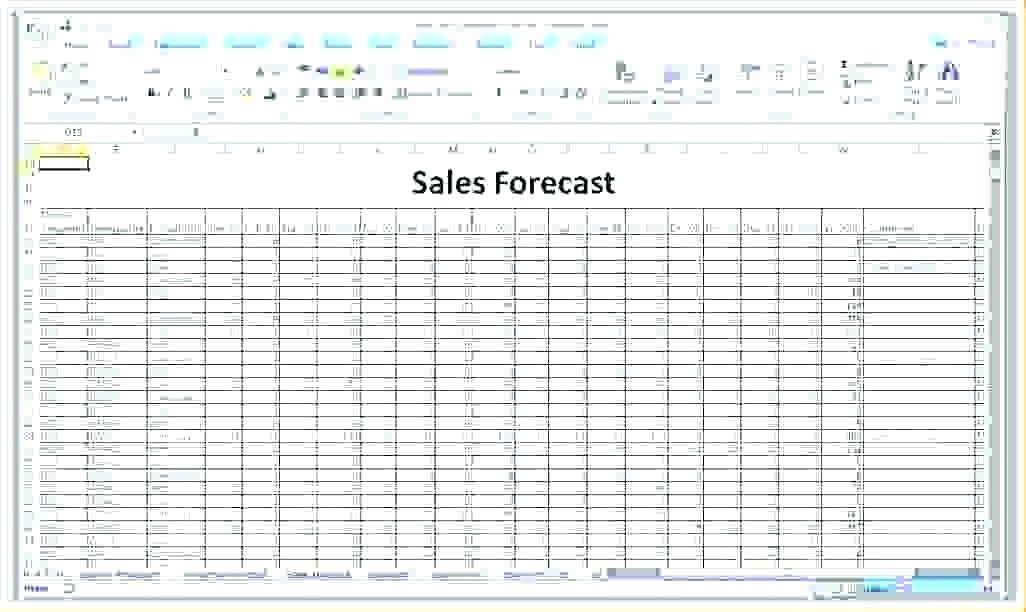 Small Business Sales Projections Template
