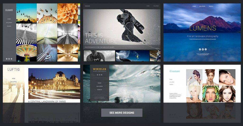 Smugmug Website Design Templates