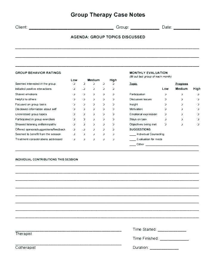 Soap Notes Template Physical Therapy