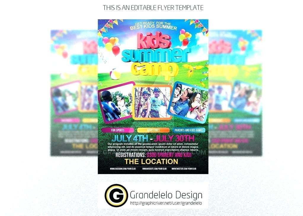 Soccer Flyer Template Free Word