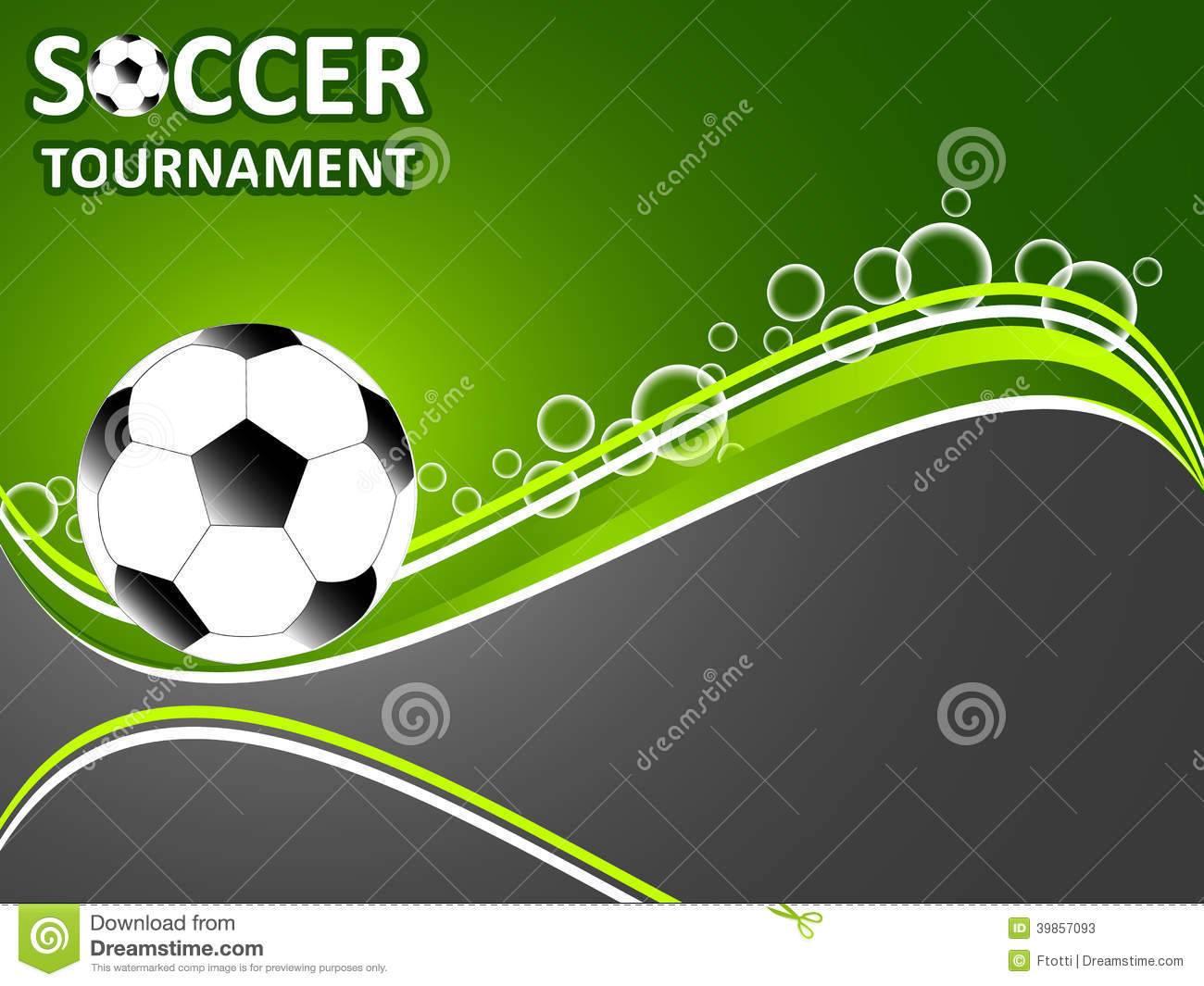 Soccer Invitation Template