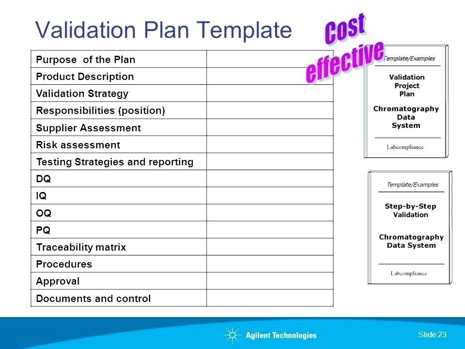Software Acceptance Test Software Validation Protocol Template