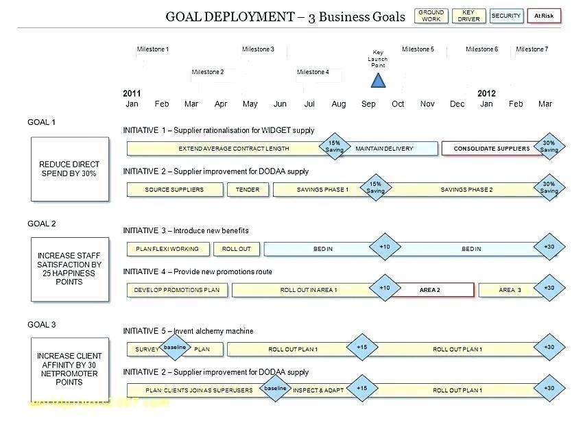 Software Application Roadmap Template
