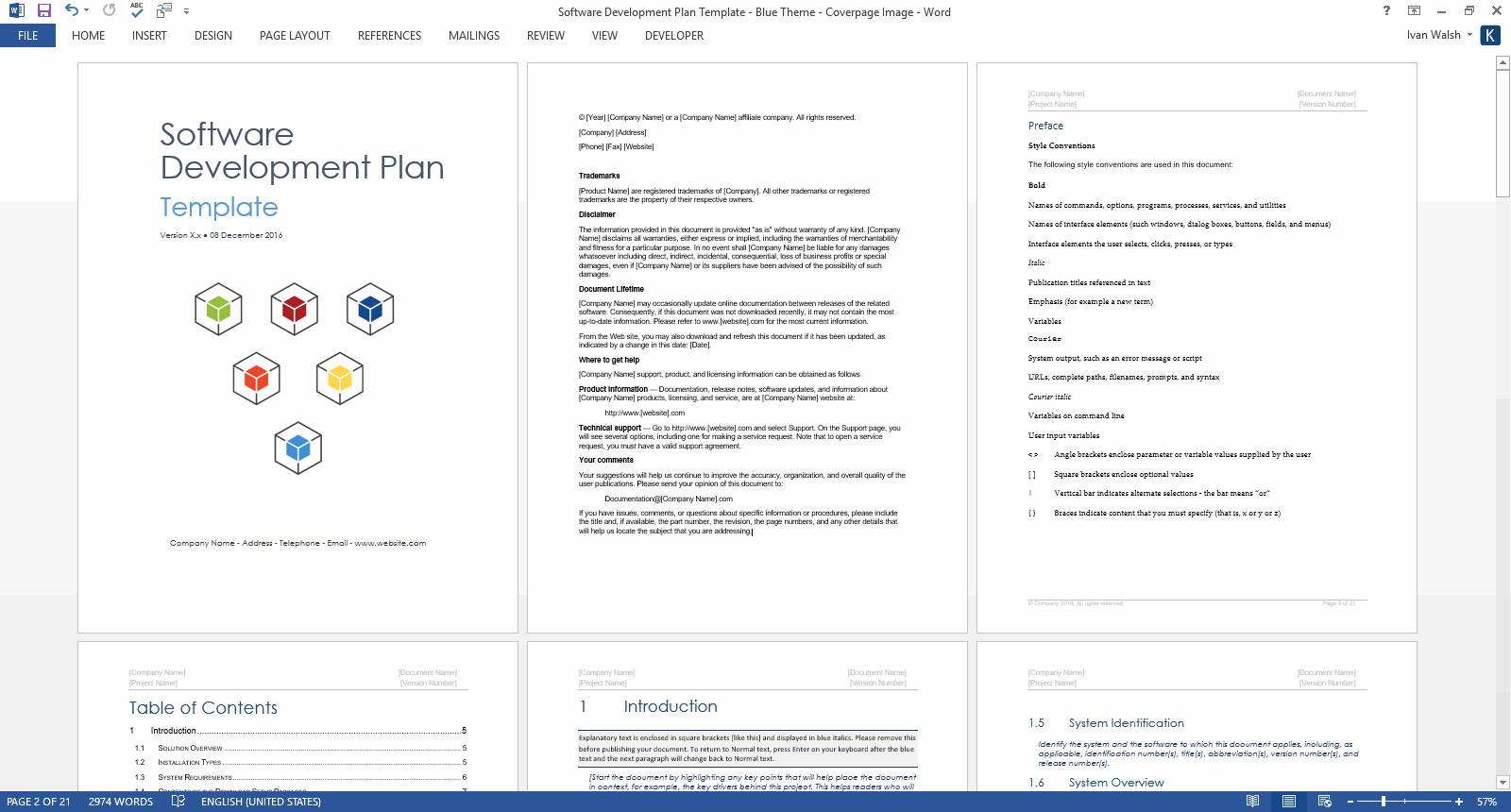 Software Development Proposal Template Pdf