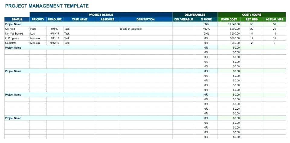Software Project Cost Estimation Template In Excel
