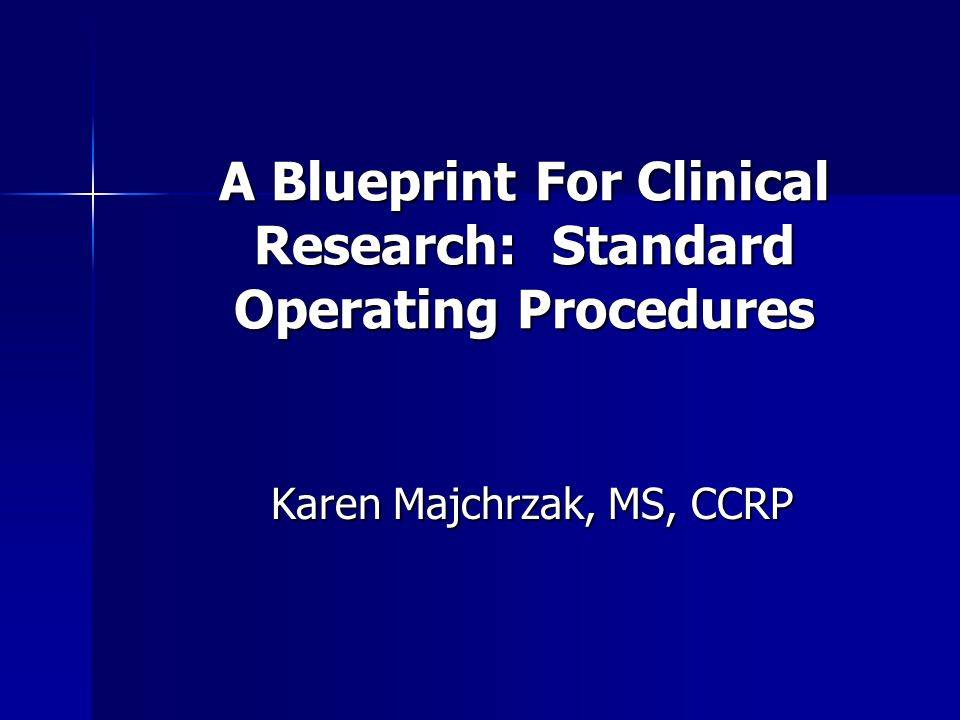 Sop Templates For Clinical Research