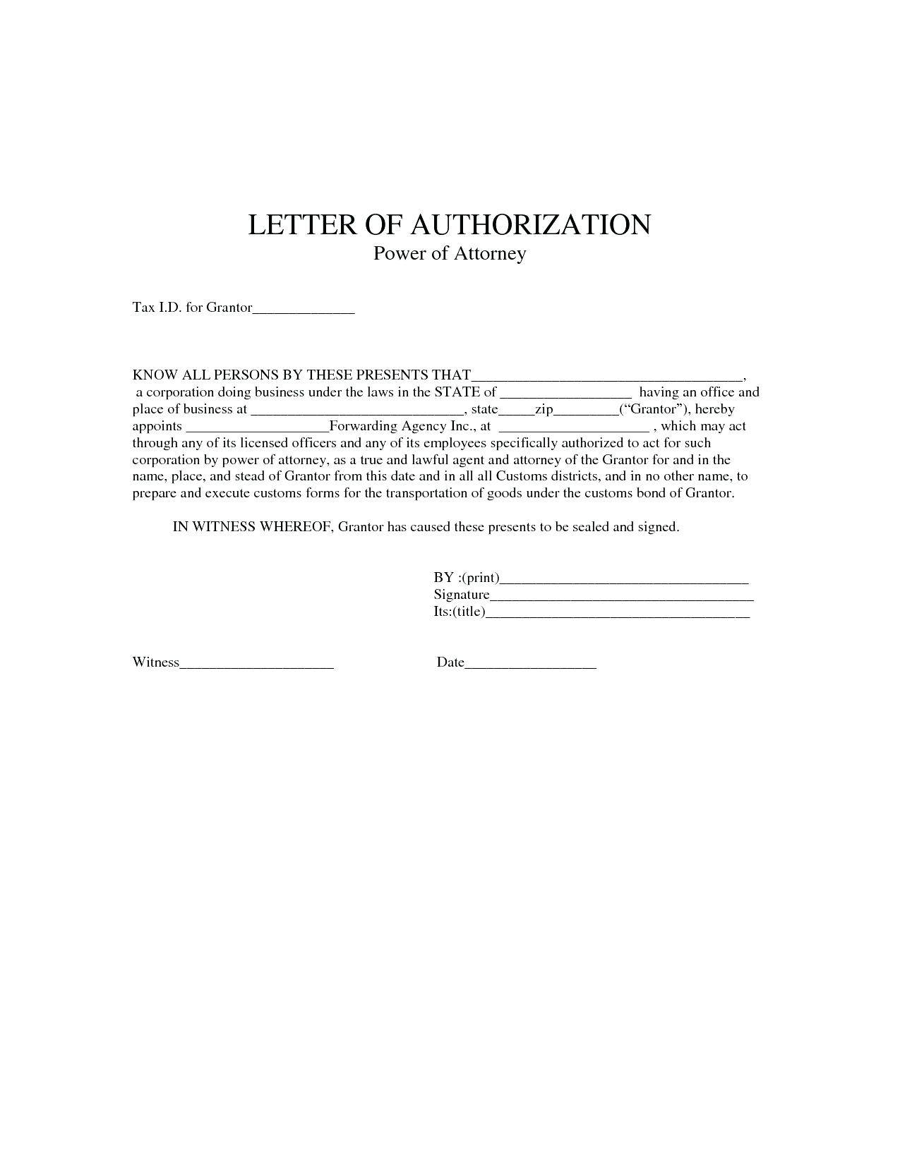 Special Power Of Attorney Forms For Authorization
