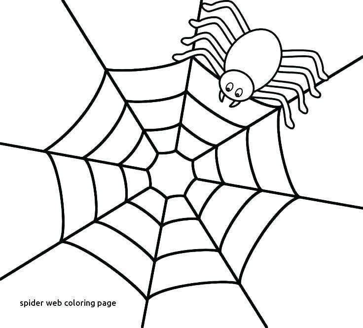 Spider Web Brainstorming Template
