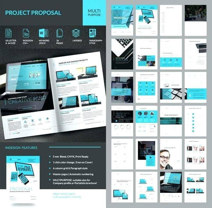 Sponsorship Proposal Template Indesign Free