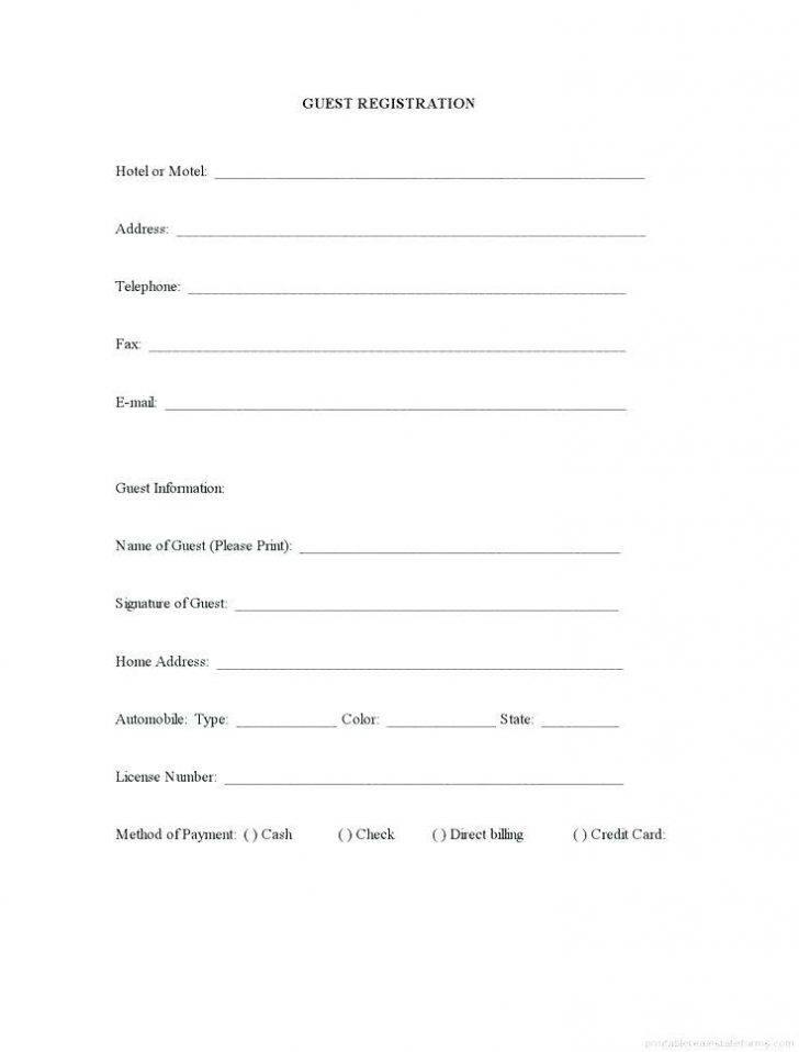 Sponsorship Registration Form Template