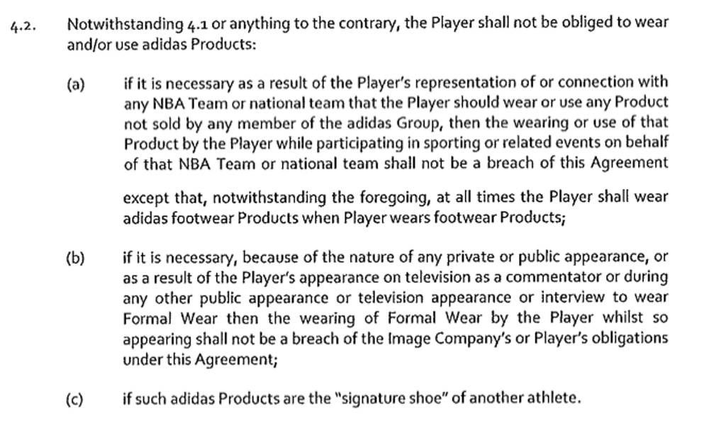 Sports Bet Contract Template