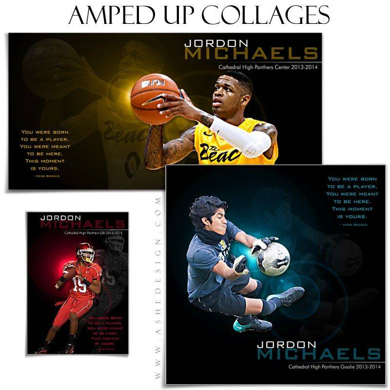 Sports Collage Templates