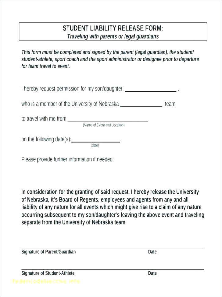 Sports Liability Waiver Template