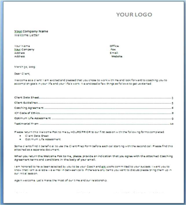 Sports Training Contract Template