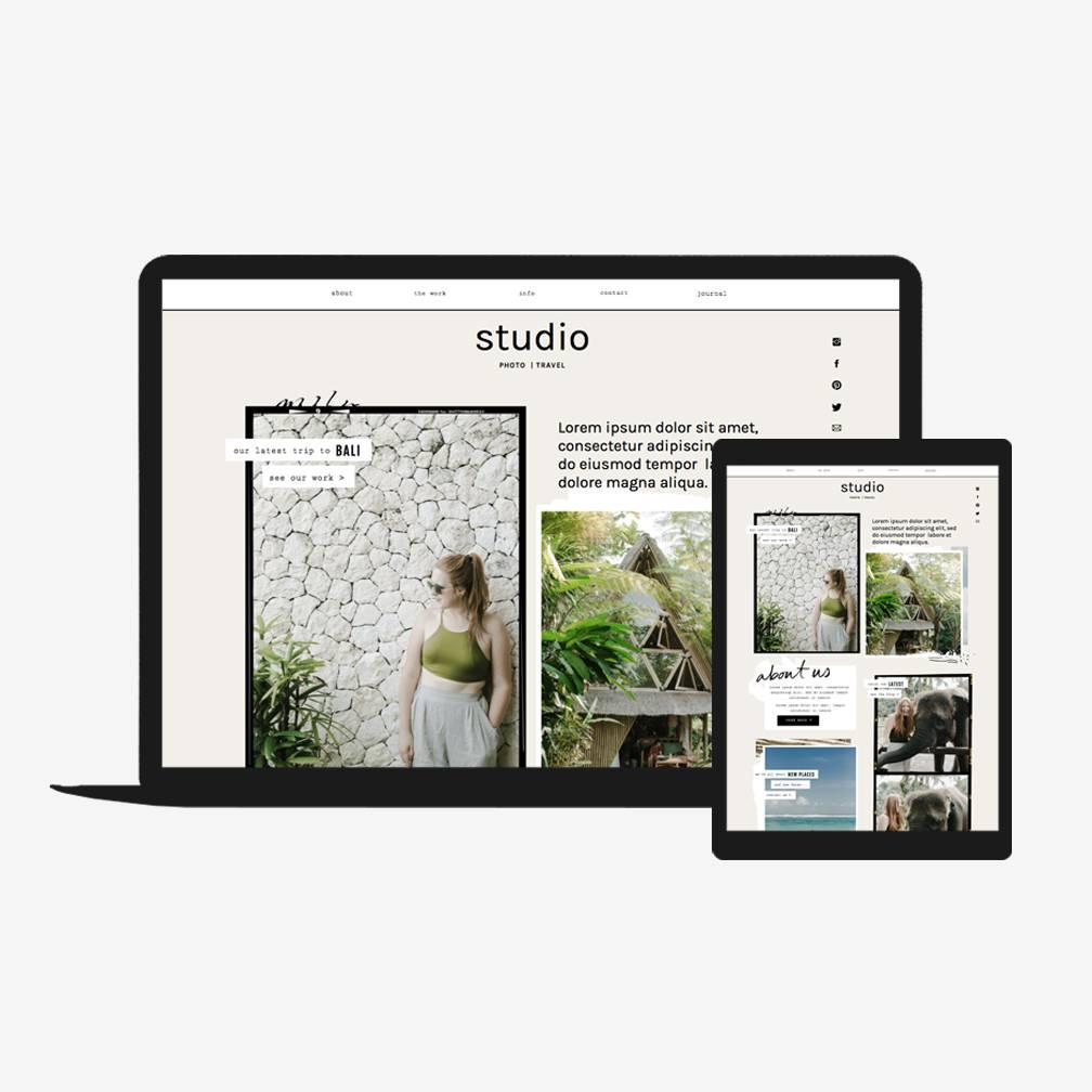 Squarespace Website Templates