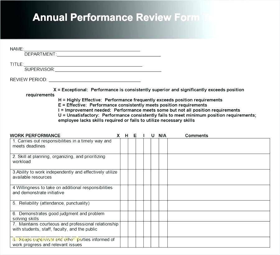 Staff Appraisal Template Australia