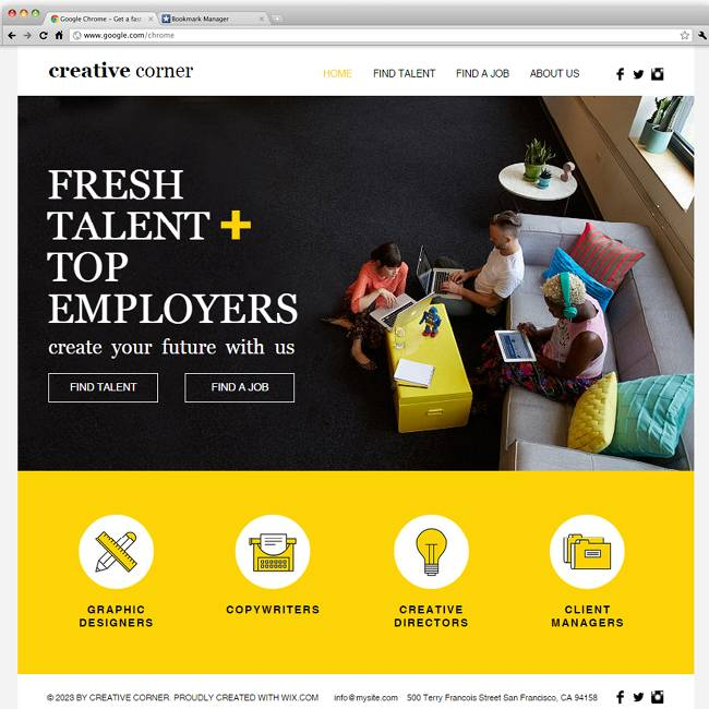 Staffing Website Templates