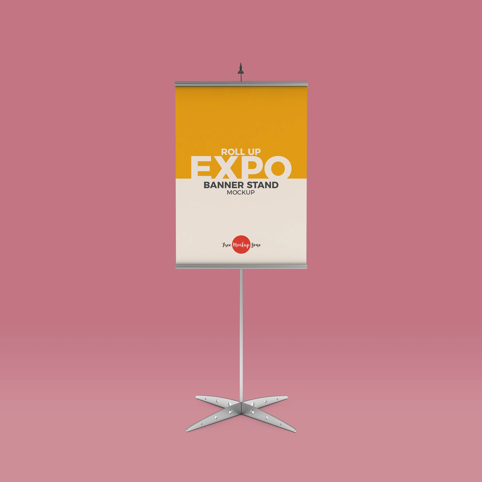 Stand Banner Template Psd
