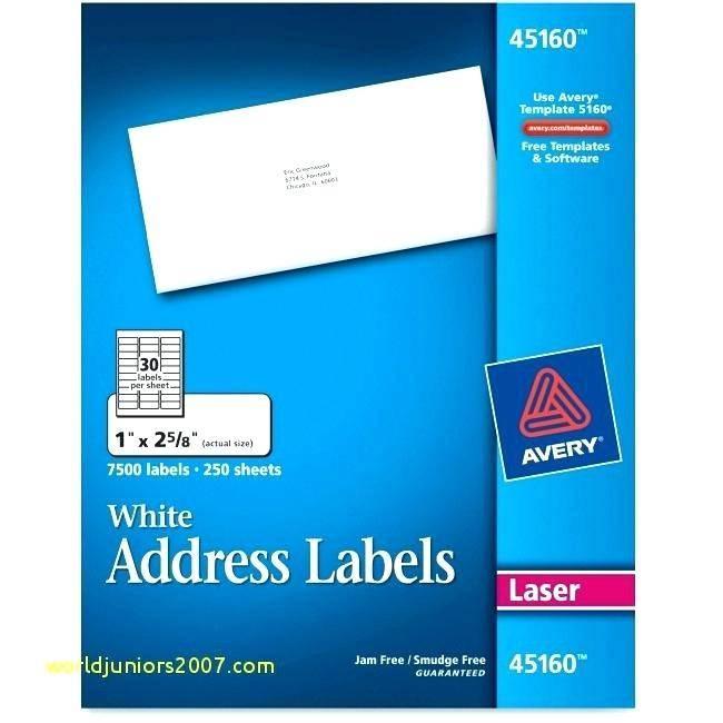 Staples White Return Address Labels Template 5267