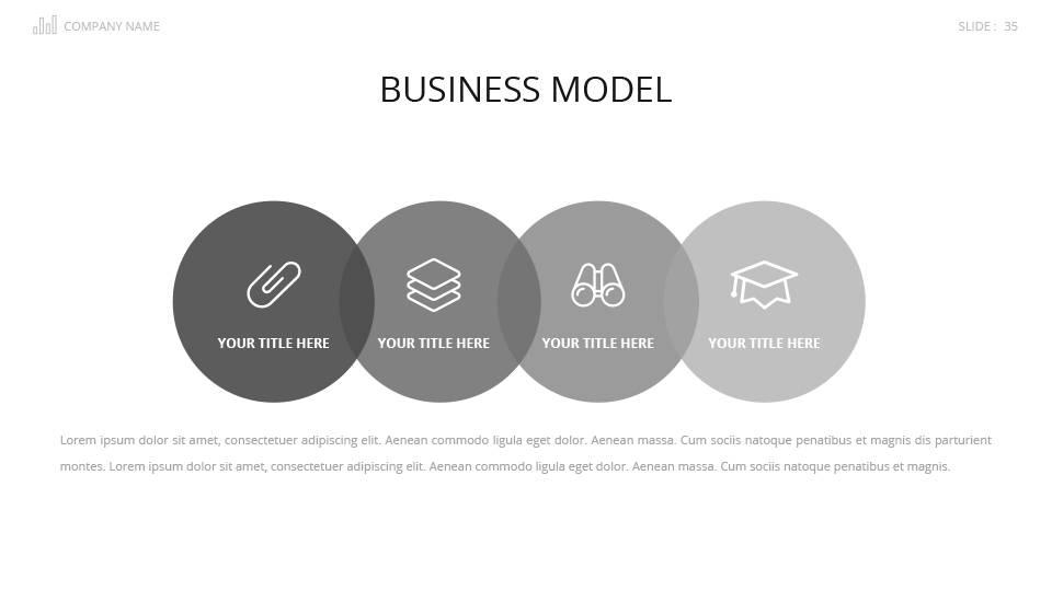 Startup Pitch Presentation Template