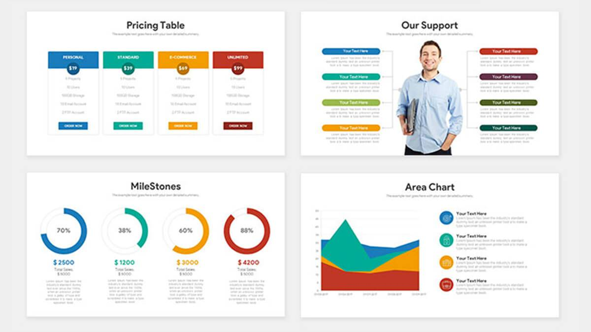 Startup Pitch Template Ppt
