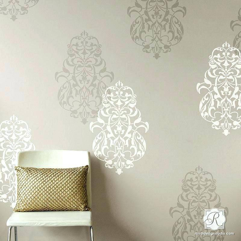 Stencil Art Designs For Walls