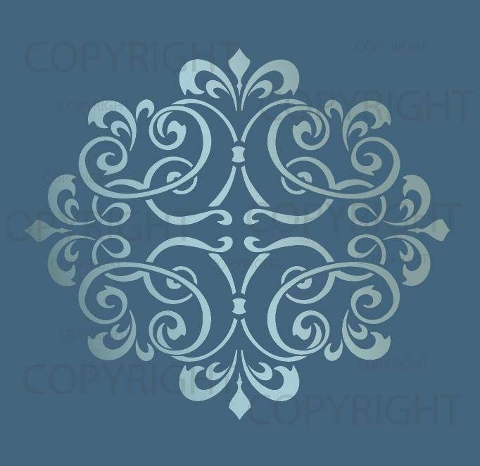 Stencil Designs For Glass Painting