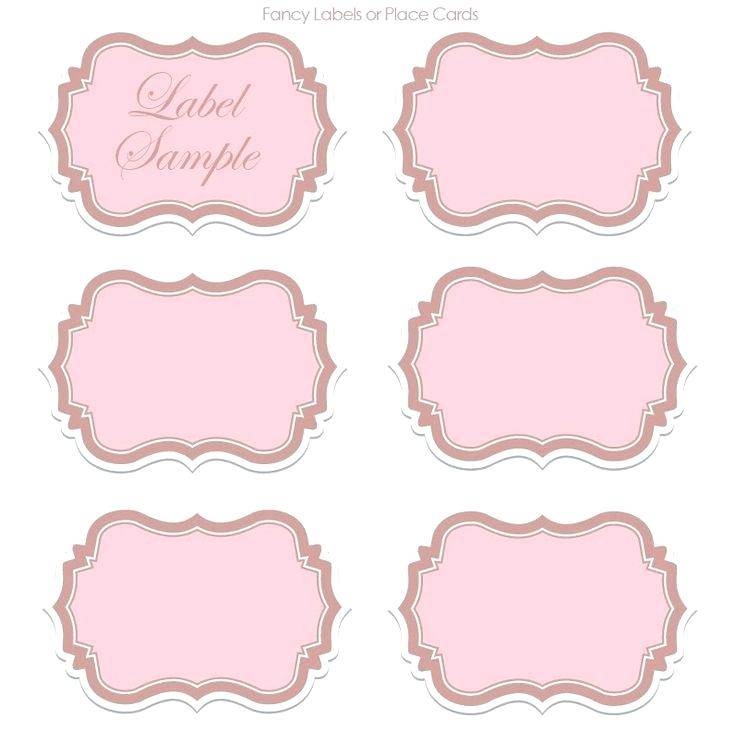 Sticker Label Templates