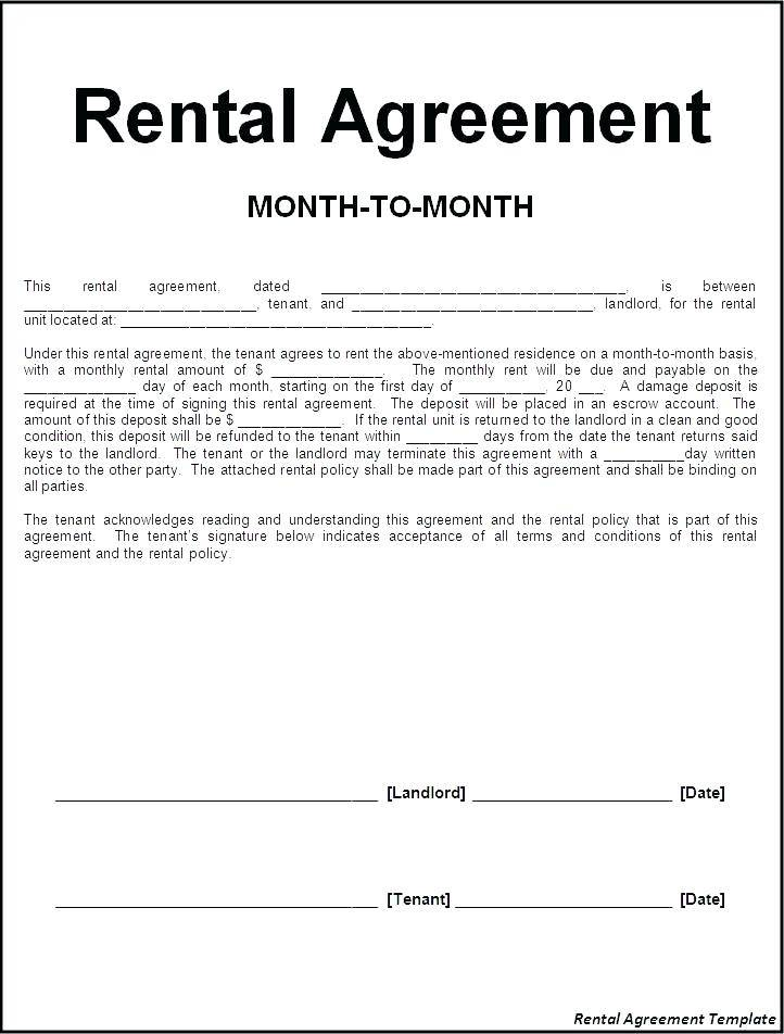 Storage Lease Agreement Form Free