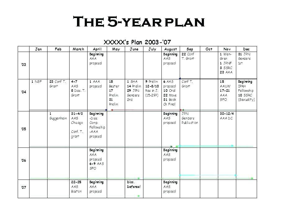 Strategic Life Plan Example