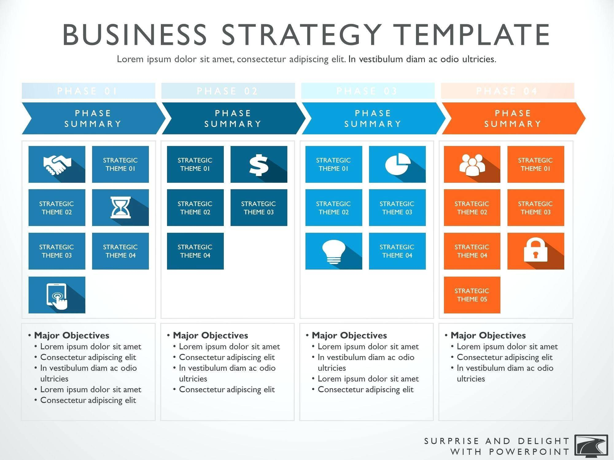 Strategy Roadmap Powerpoint Template