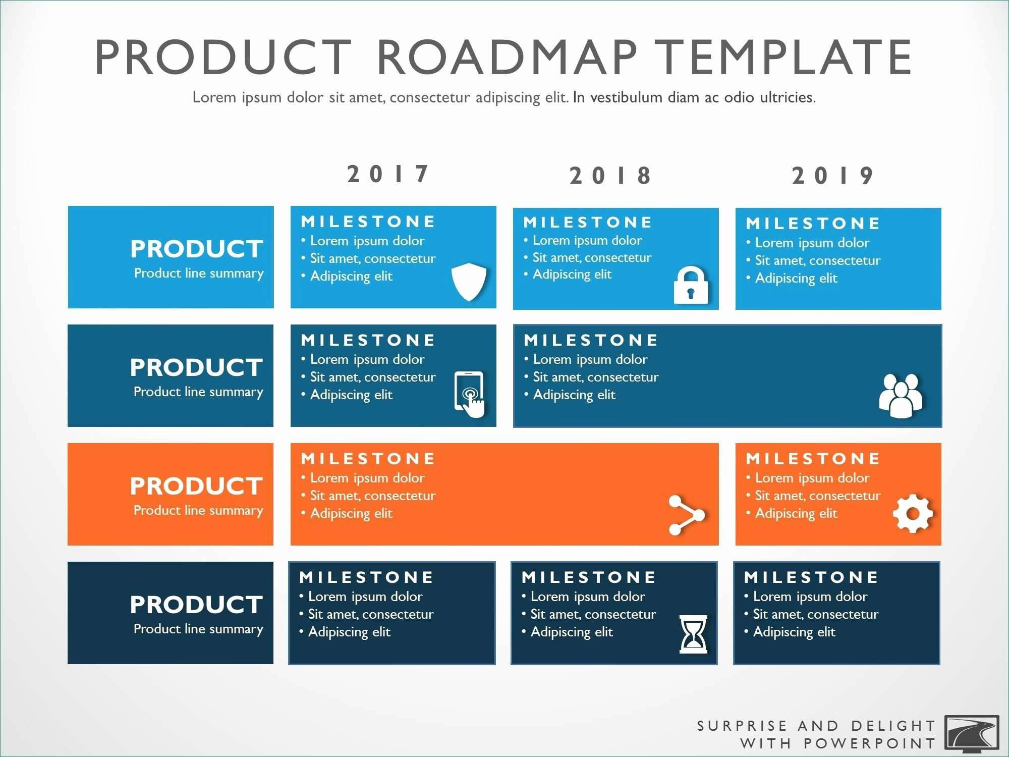 Strategy Roadmap Template Free Download