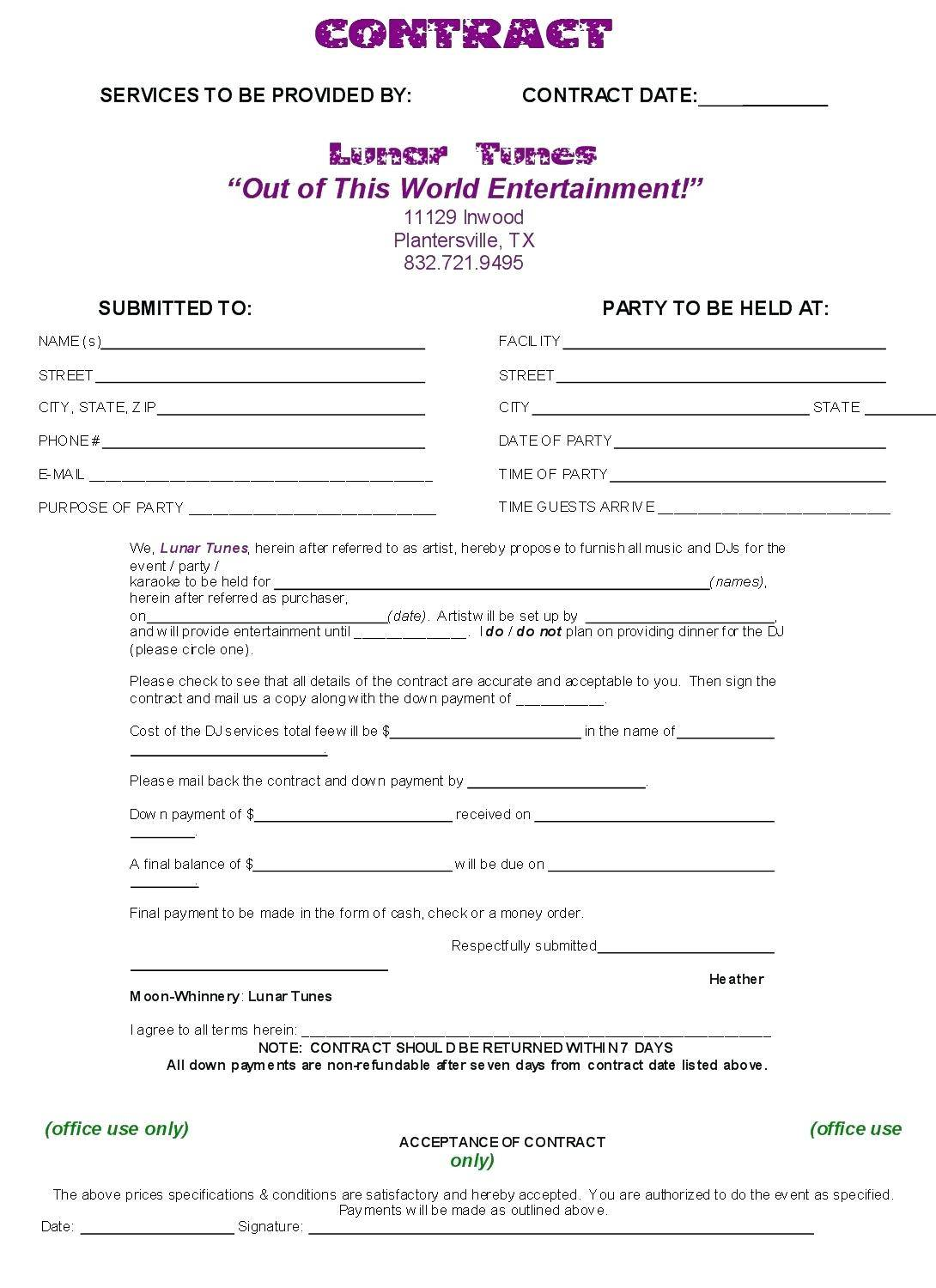 Subcontractor Agreement Template Qld
