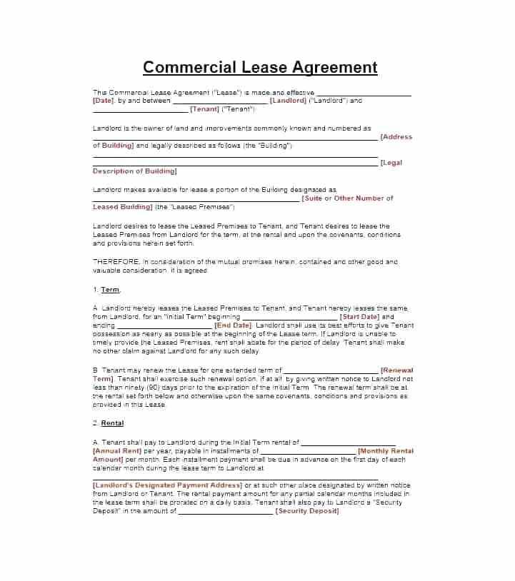 Subletting Contract Template Germany