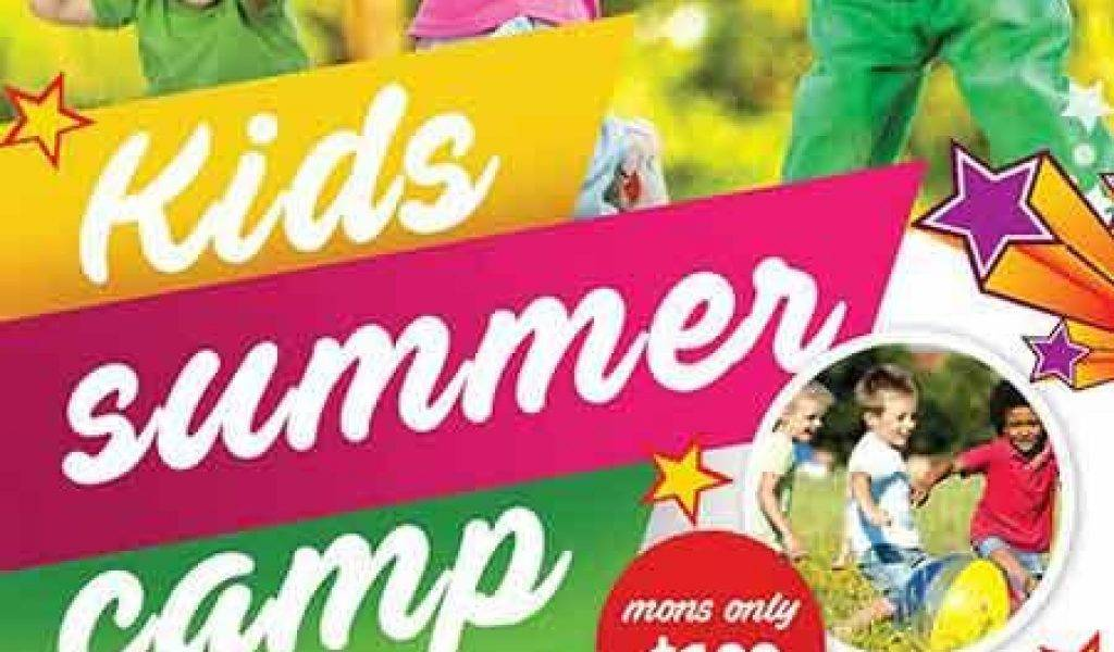 Summer Camp Brochure Template Free Download