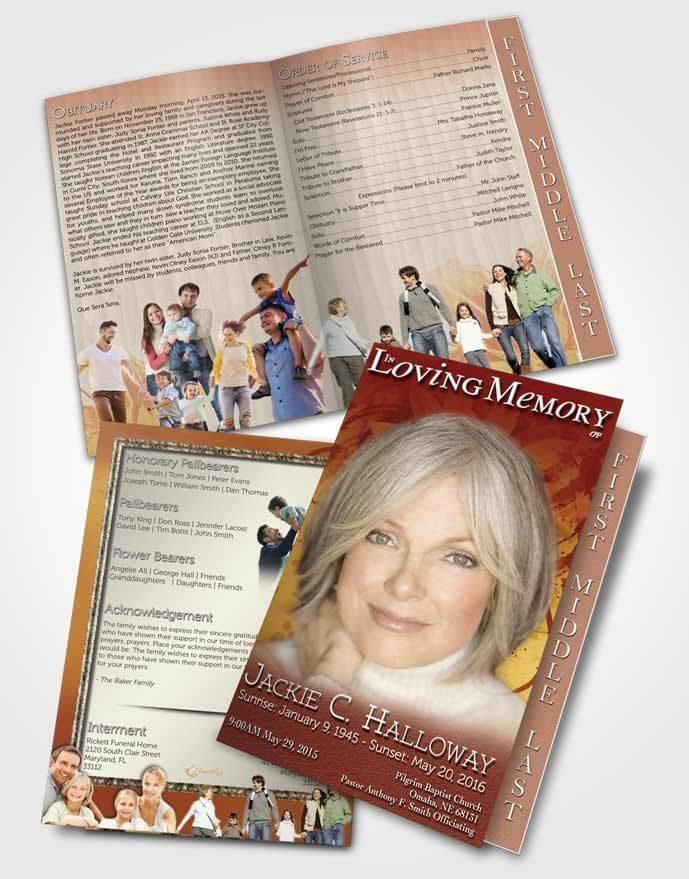 Summer Program Brochure Template