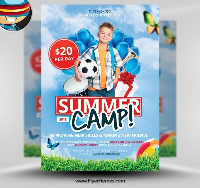 Summer School Flyer Template Free