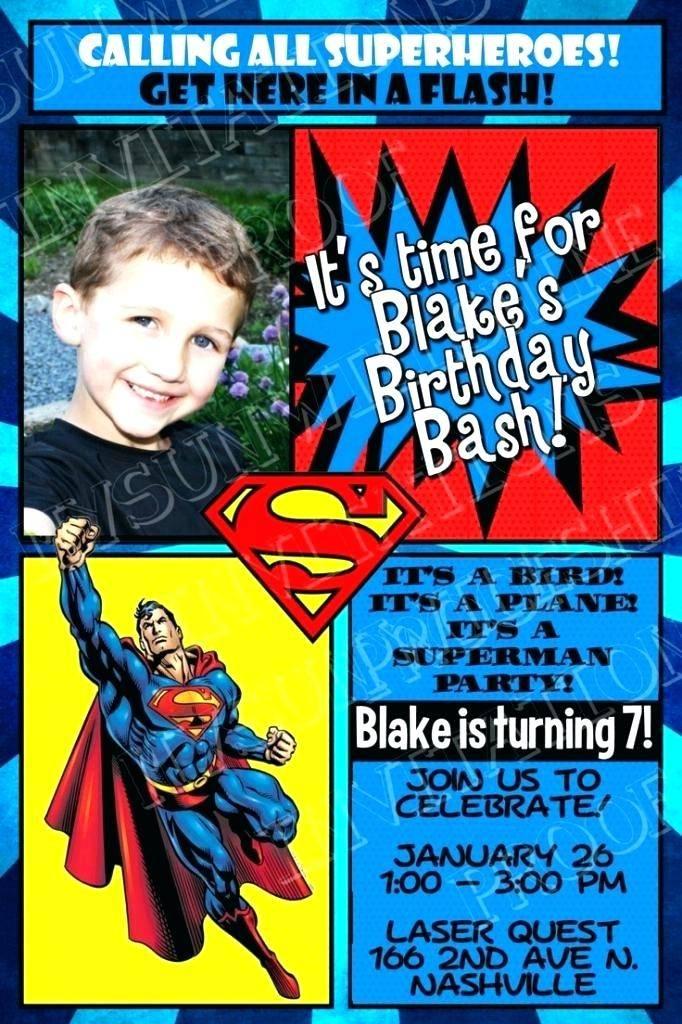 Superhero Invitation Maker Free