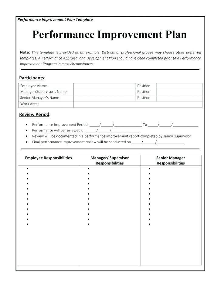 Supplier Performance Assessment Template