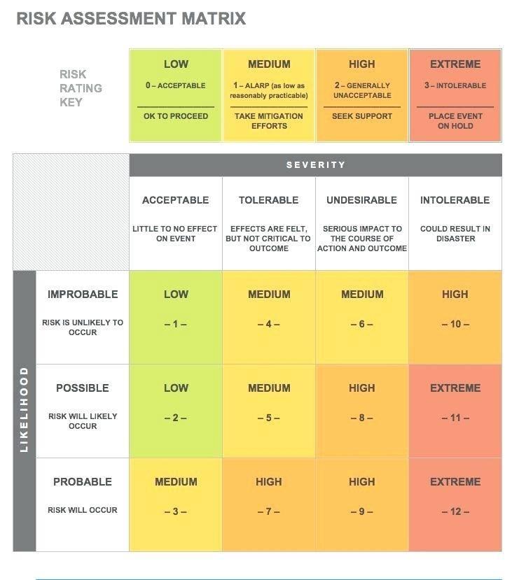 Supplier Risk Mitigation Template